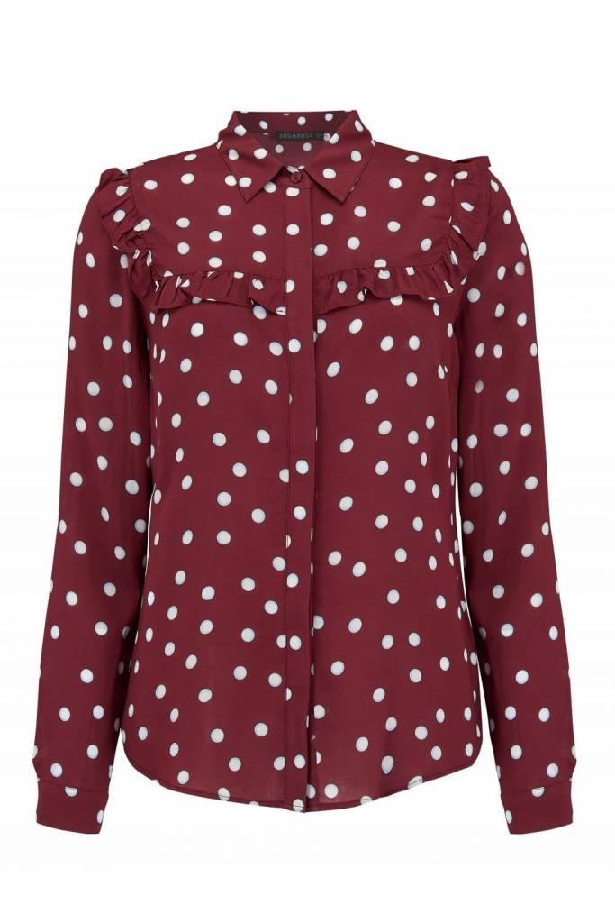 Sugarhill Brighton Grace Brit Pop Frill Shirt