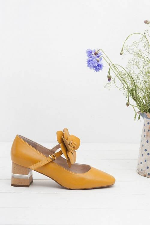 Miss L Fire Pamela Mustard Flower