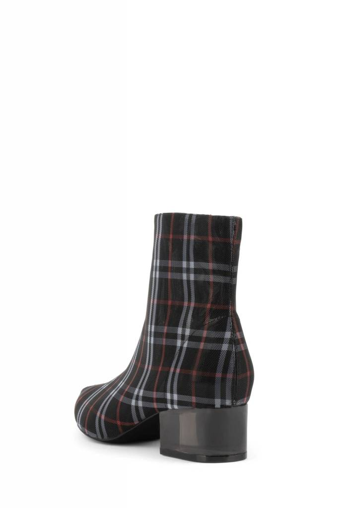 Jeffrey Campbell Luminate Plaid Bootie
