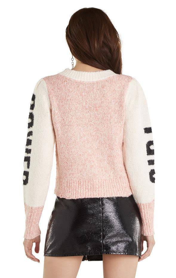 Wildfox Couture Girl Power Lou Sweater