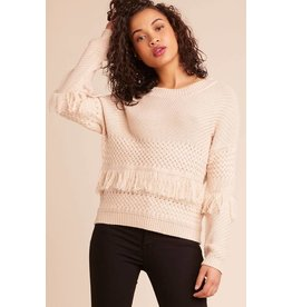 Jack by BB Dakota Mix It Up Fringe Sweater