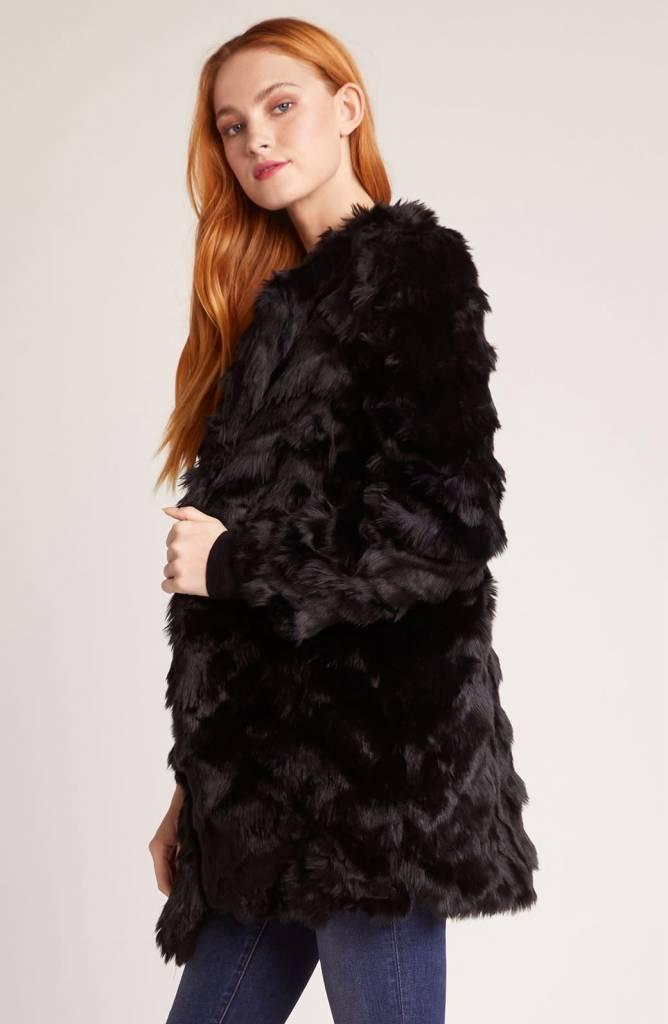 BB Dakota It's All Happening Faux Fur Coat