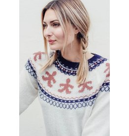 Sugarhill Brighton Winnie Gingerbread Fairisle Sweater