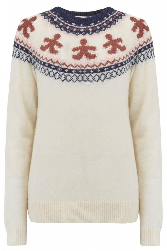 Sugarhill Brighton Winnie Gingerbread Fairisle Sweater