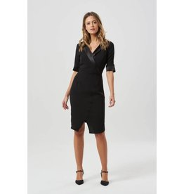Sugarhill Brighton Corinne Tuxedo Dress