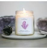JaxKelly Amethyst Crystal Candle