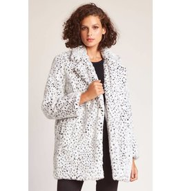 Jack by BB Dakota Cool Cat Snow Leopard Fur Coat
