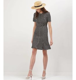 Donna Morgan Lottie Polka Dot Dress