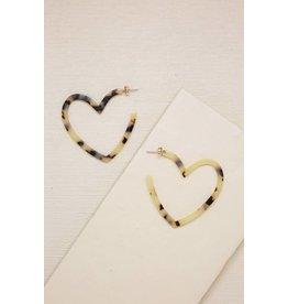 Ettika Lots of Love Heart Hoops