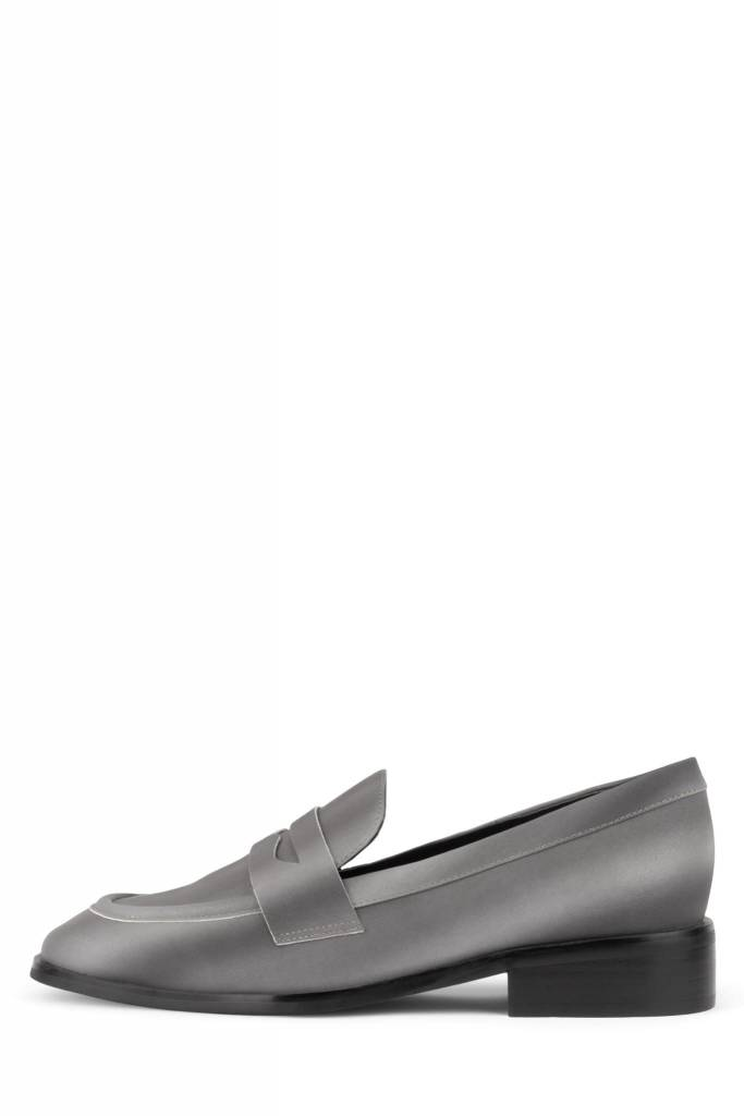 Jeffrey Campbell Hornsby Silver Reflective