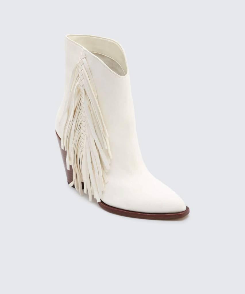 Dolce Vita Kendel White Booties
