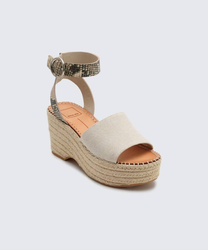 Dolce Vita Lesly Neutral Wedge