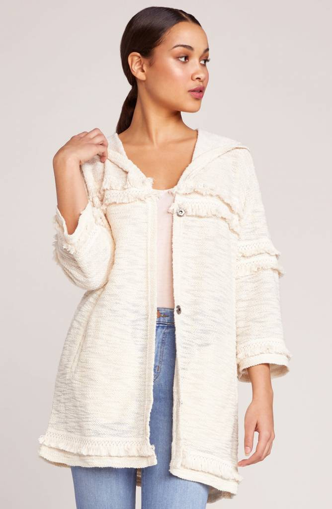 Jack by BB Dakota On The Fringe Hooded Jacket