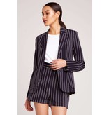 BB Dakota Blaze it Stripe Blazer