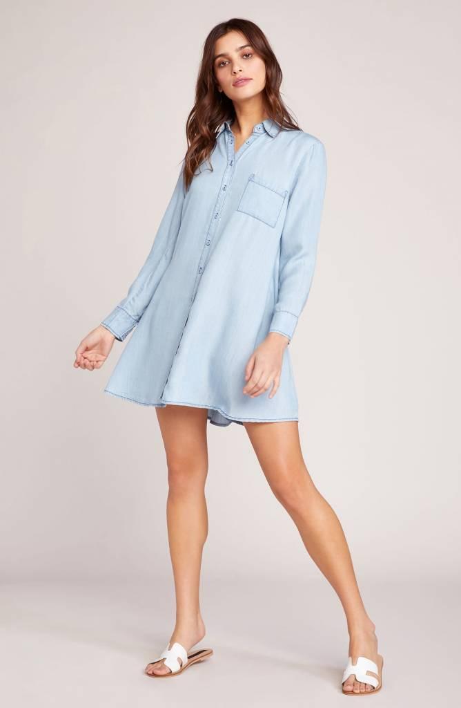 BB Dakota Shirty Personality Shirt Dress