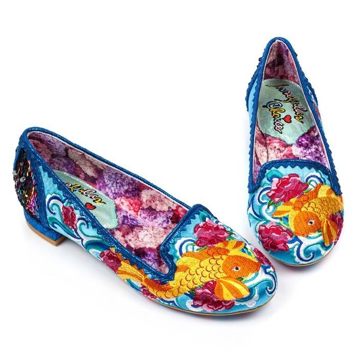 Irregular Choice Pescado Oro