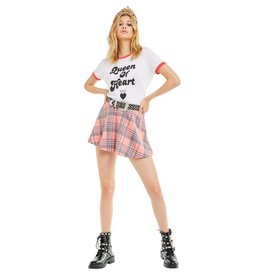 Wildfox Couture Queen of Heart Johny Ringer Tee