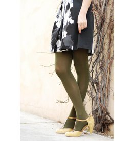 Opaque Tights  Olive