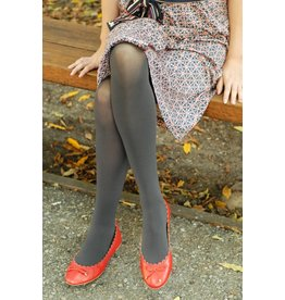 Tabbisocks Opaque Tights Dark Grey