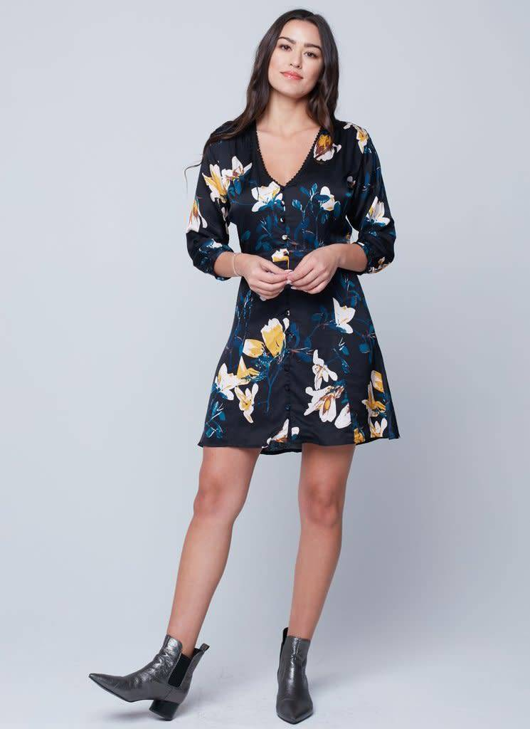 Knot Sisters April Floral Dress