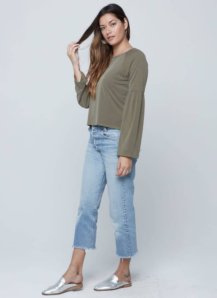 Knot Sisters Elle Olive Top