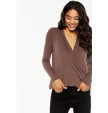 Project Social T Devotion Surplice Longsleeve Top