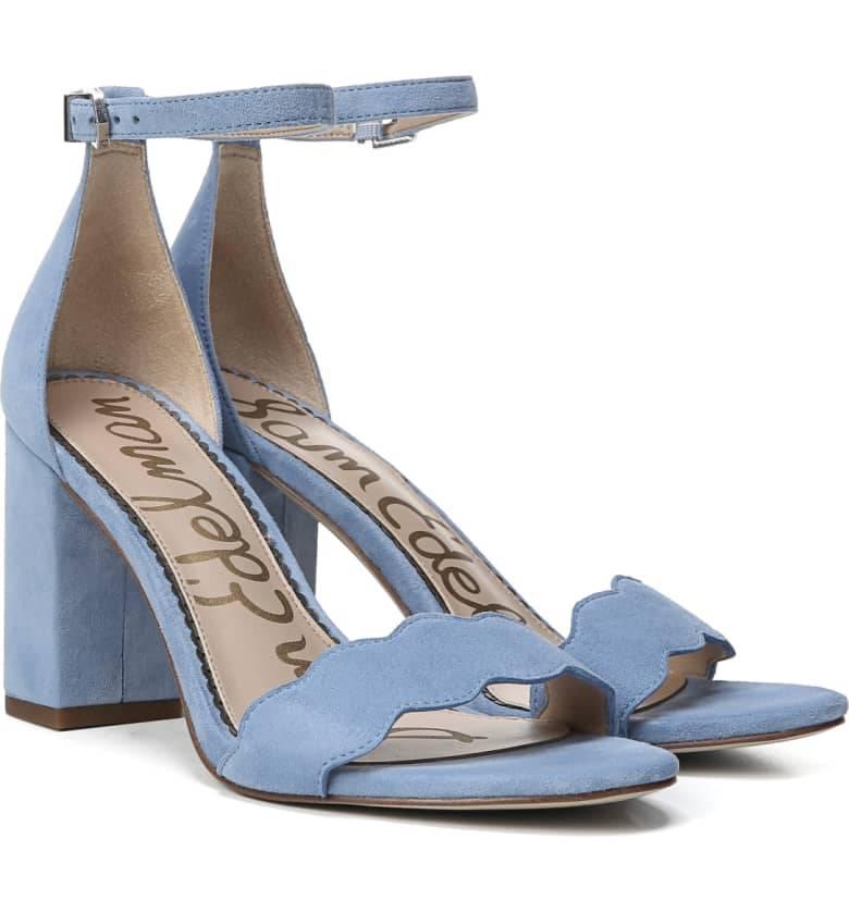 Sam Edelman Odila Sandal Cornflower Blue