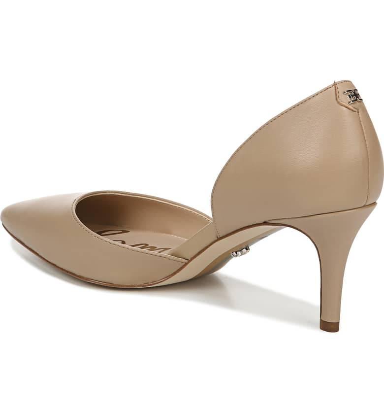 Sam Edelman Jania Pump Nude Leather