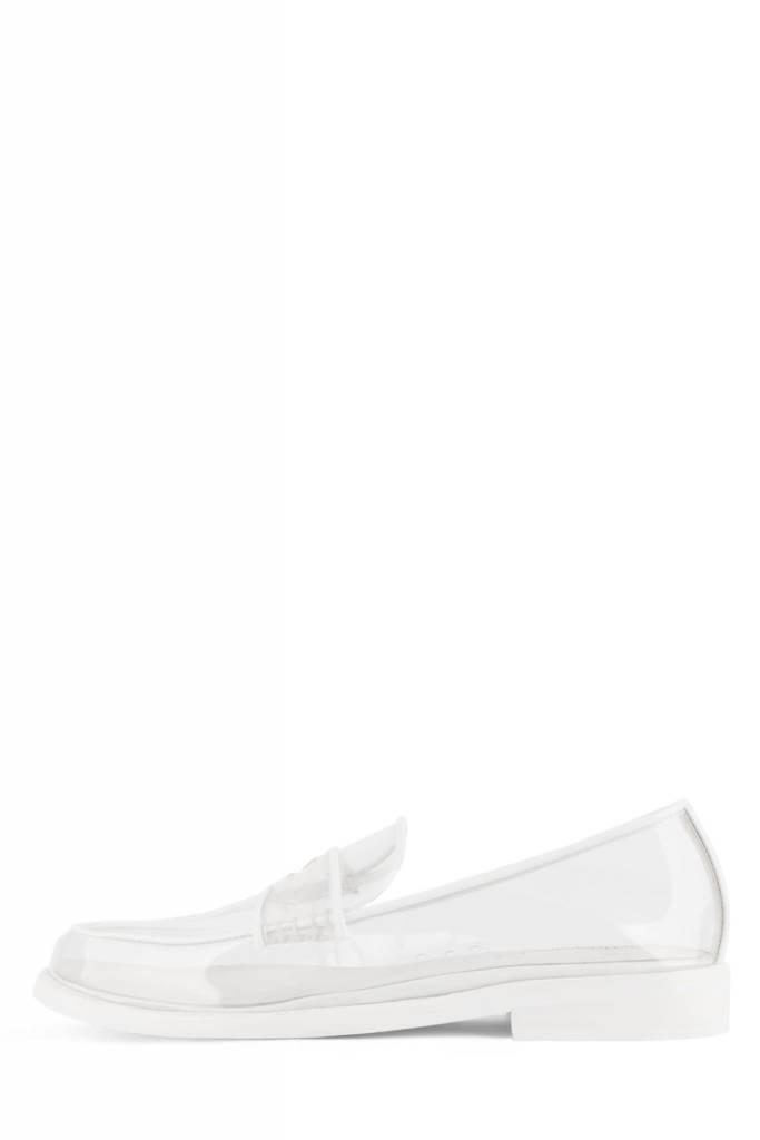 Jeffrey Campbell Kurri Clear Loafer