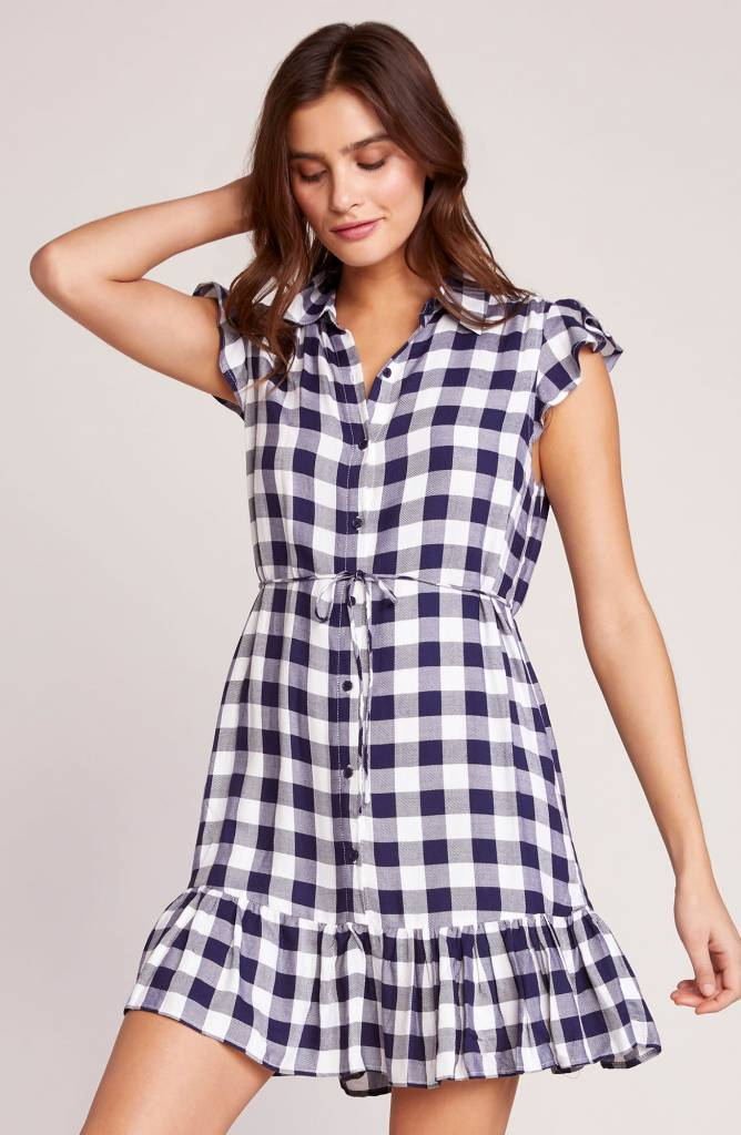 BB Dakota Check Please Shirt Dress