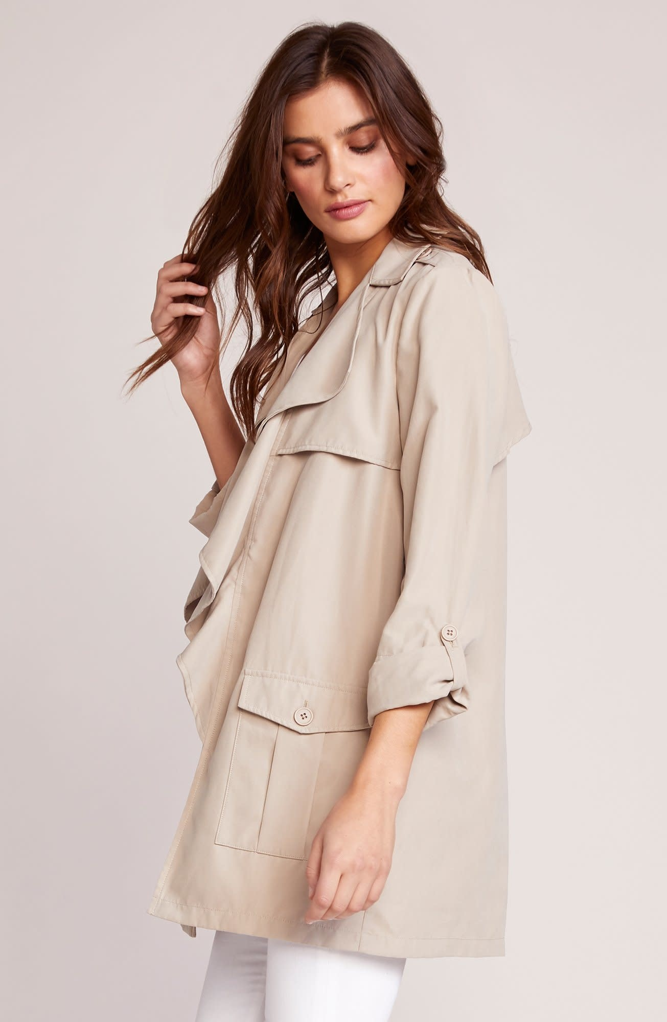 Jack by BB Dakota Private Eyes Trench