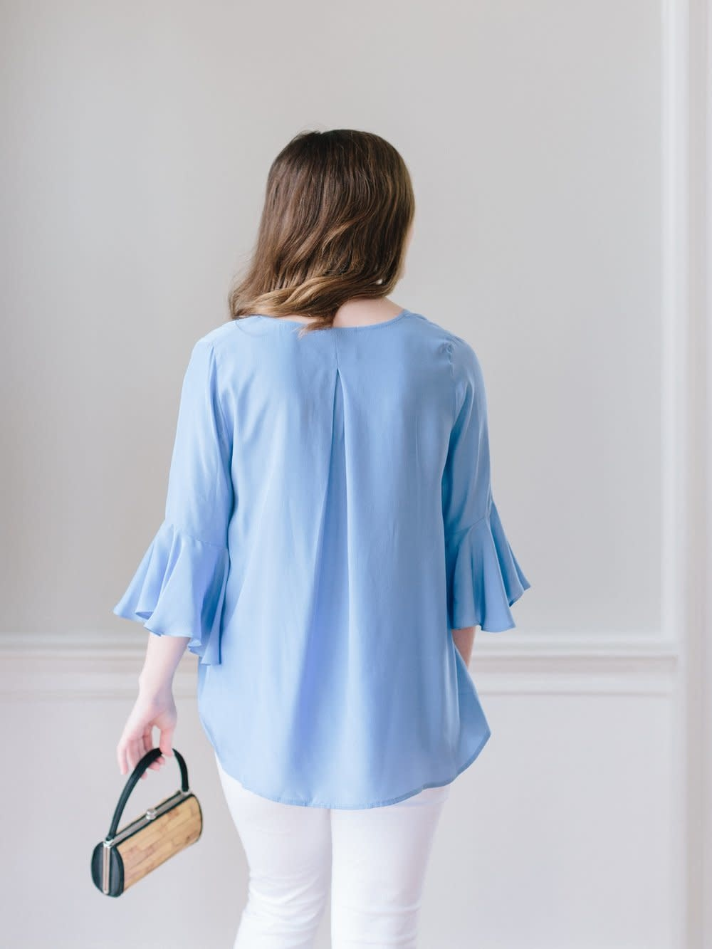 La Roque Park Top French Blue One Size