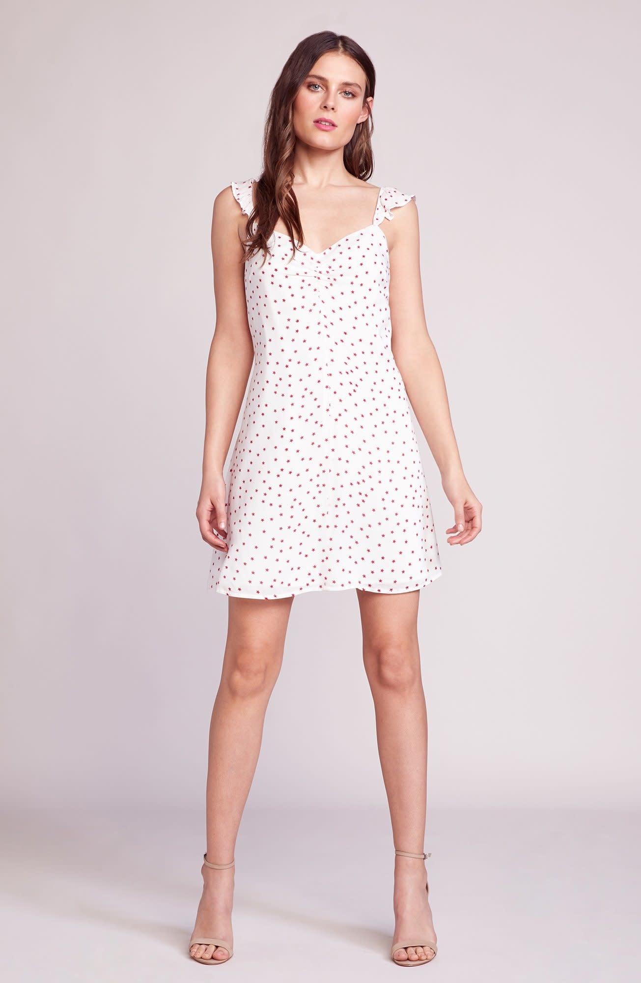 BB Dakota Stars Align Printed Dress