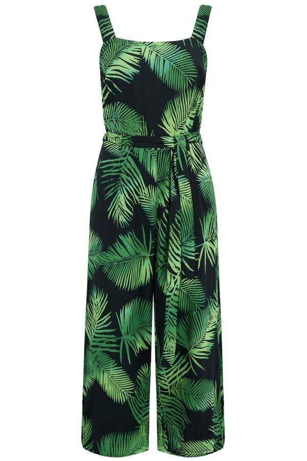 Sugarhill Brighton Millie Palm Cropped Jumpsuit