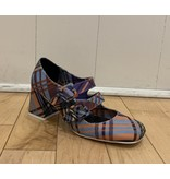 Jeffrey Campbell Comic Purple Plaid
