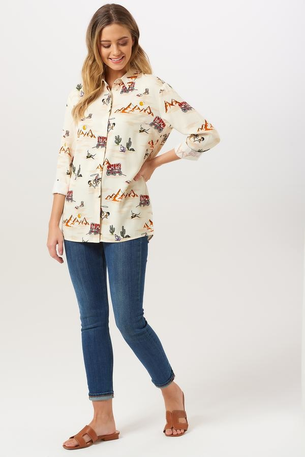 Sugarhill Brighton Joy Vintage Cowboy Shirt