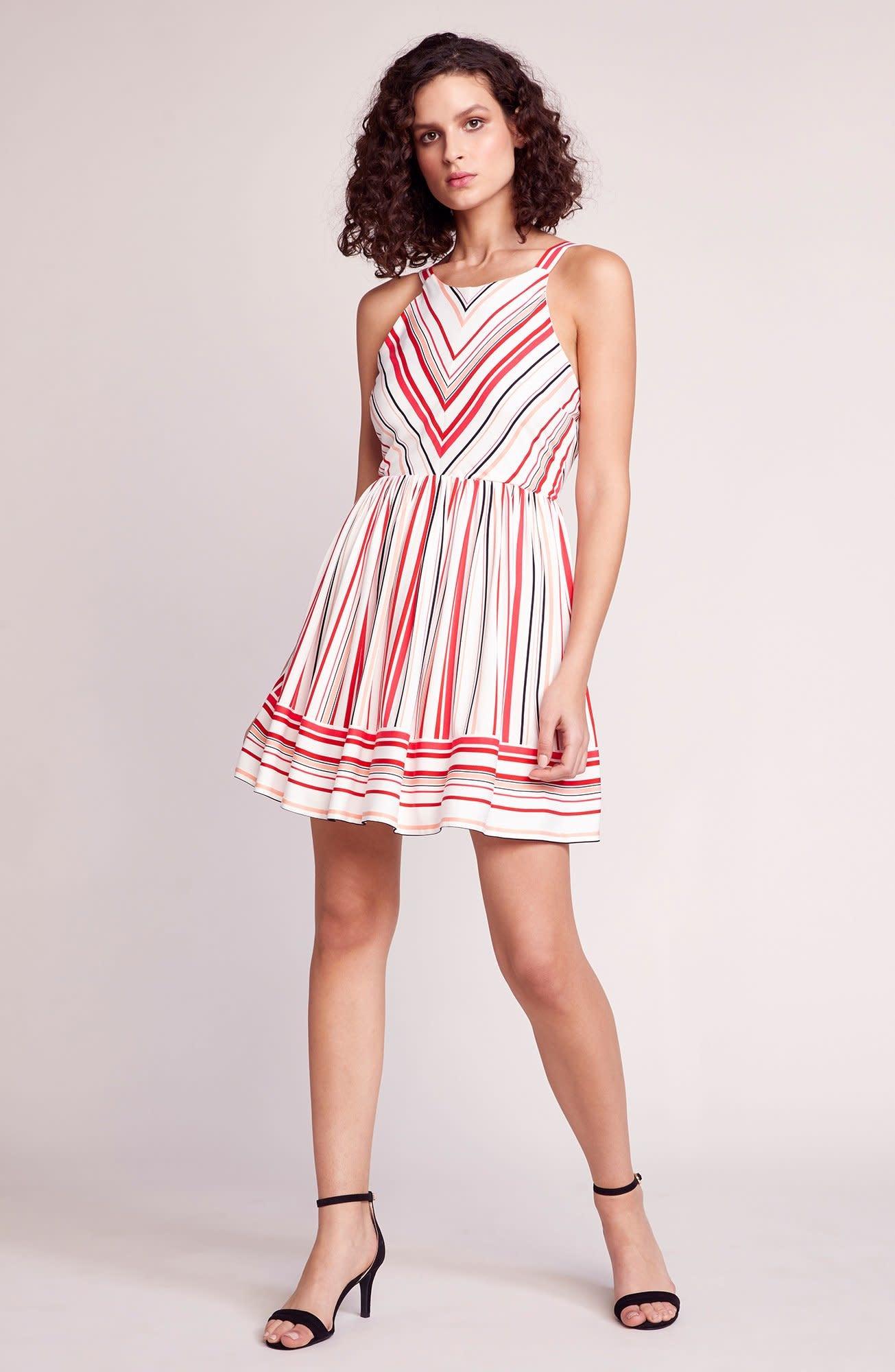 BB Dakota On The Line Striped Dress