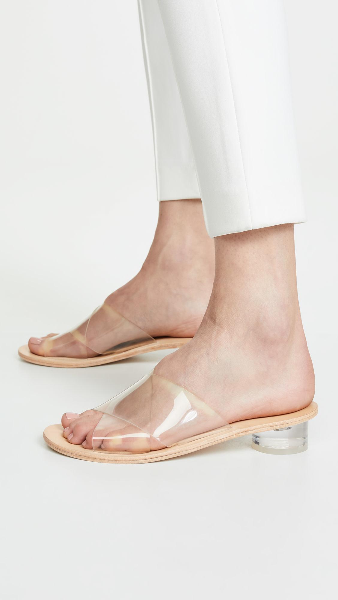 Jeffrey Campbell Bronwen Clear Sandal