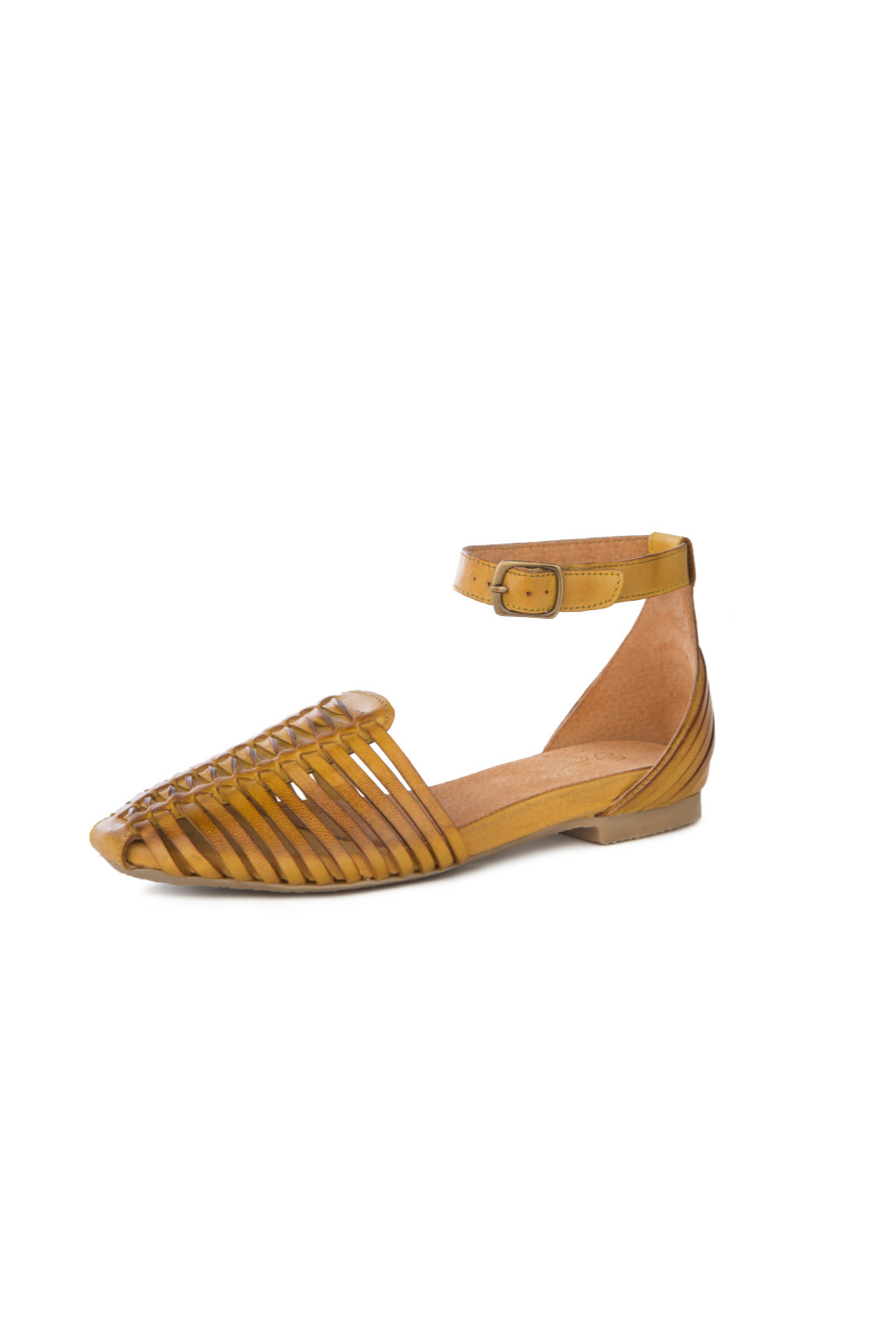 Seychelles Bits and Pieces Mustard Sandal