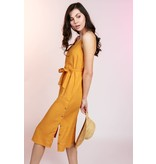 MINKPINK Daybreak Tangerine Midi Dress