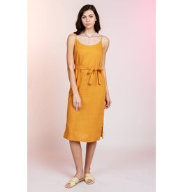 MINKPINK Daybreak Tangerine Midi Dress