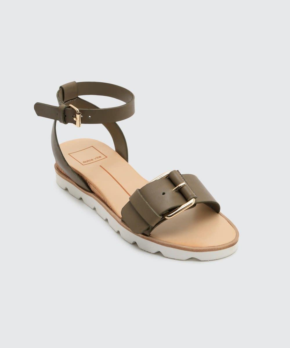 Dolce Vita Virgo Khaki Sandal