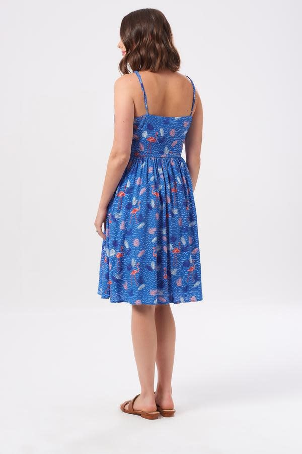 Sugarhill Brighton Hannah Flamingo Fandango Sundress