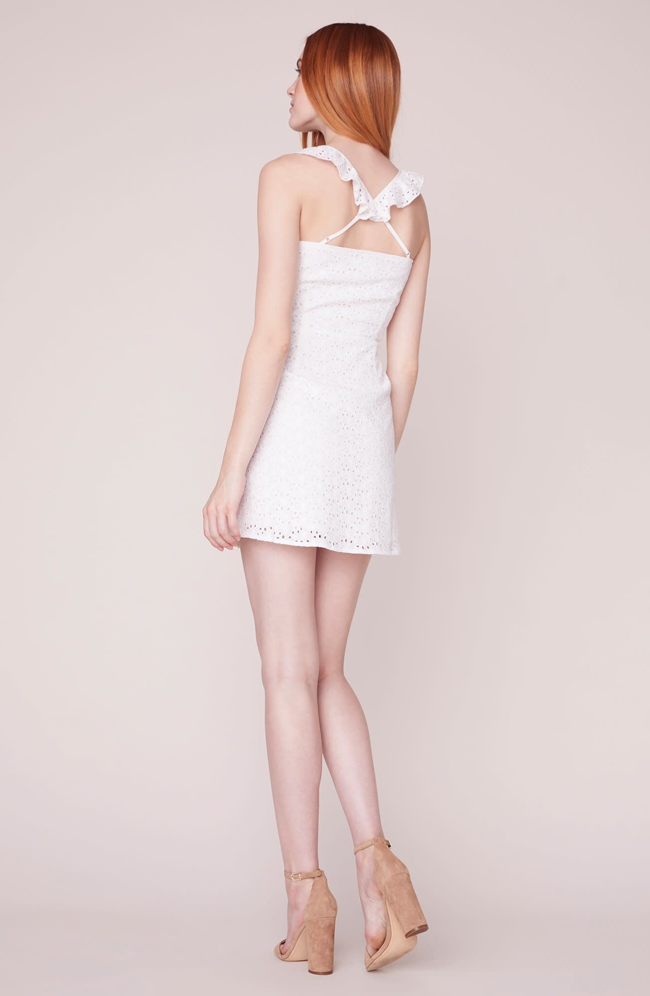Walk in the Park Fitted Dress