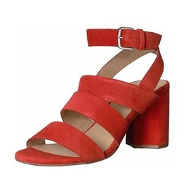Seychelles Antiques Red Suede Heel