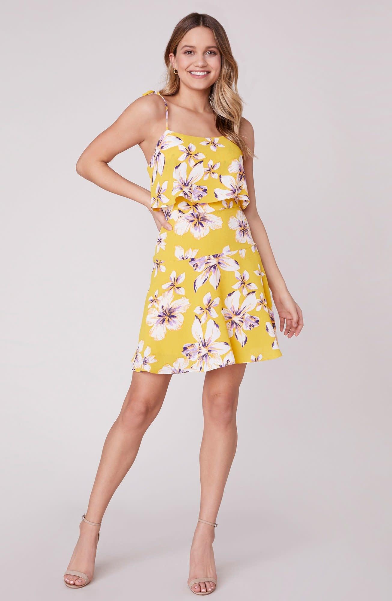 BB Dakota Island Time Sunglow Dress