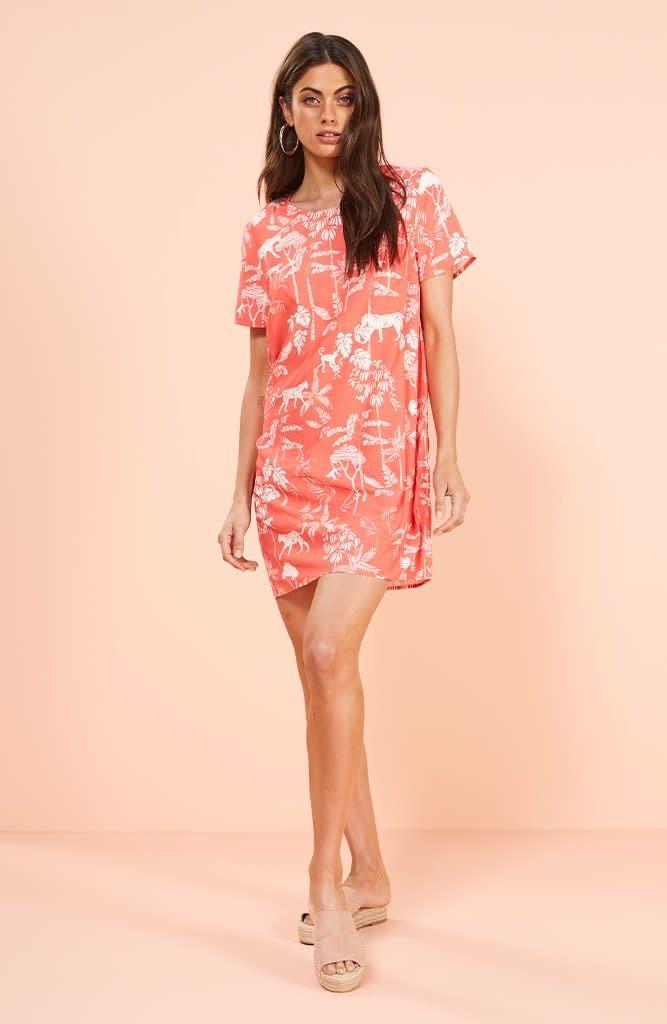 MINKPINK Sahara Breeze Tee Dress