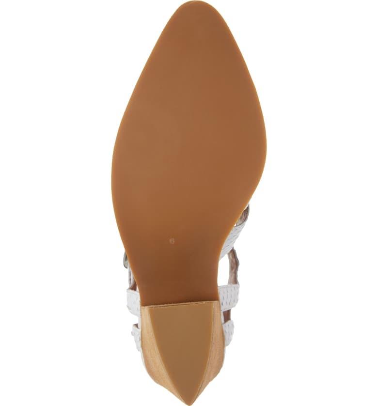 Jeffrey Campbell Angora Ivory Heeled Sandal