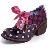 Irregular Choice Tipple Polka Dot Oxford