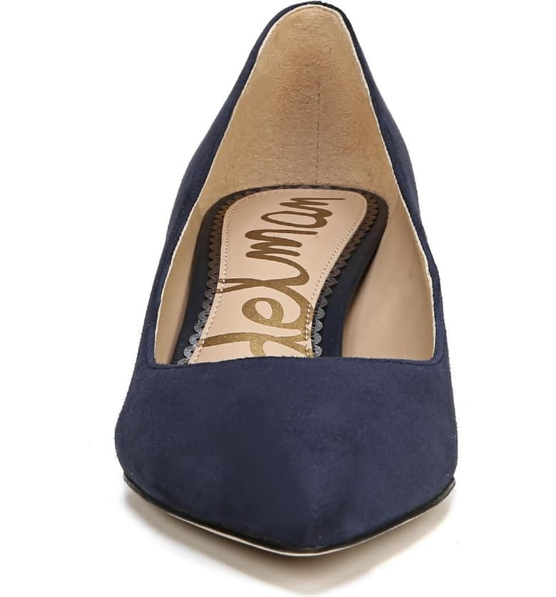 Sam Edelman Dori Kitten Heel Baltic Navy